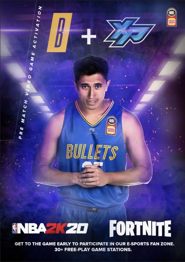 """Brisbane Bullets – Partnership """"Fanzone Activations & XP Royale"""""""