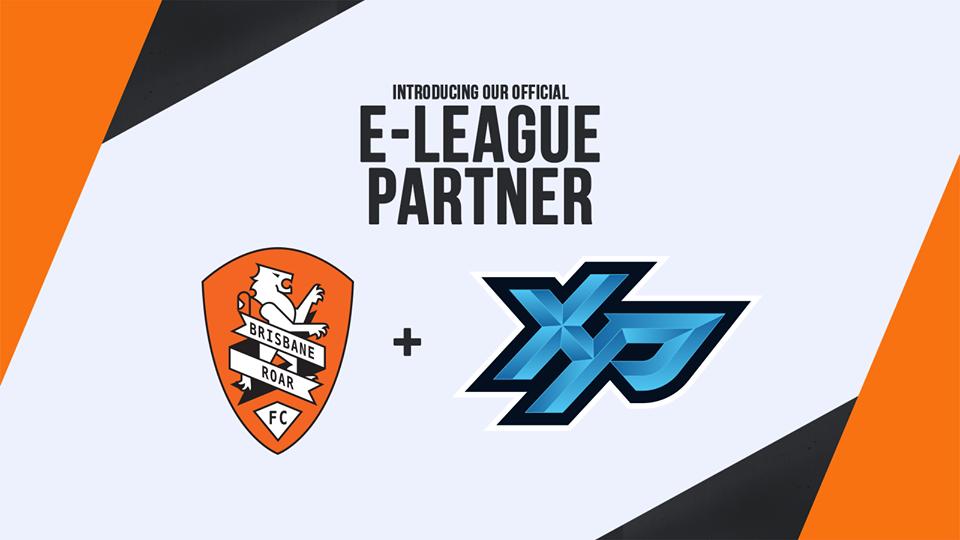 "Brisbane Roar – Partnership ""E-League Partner"""